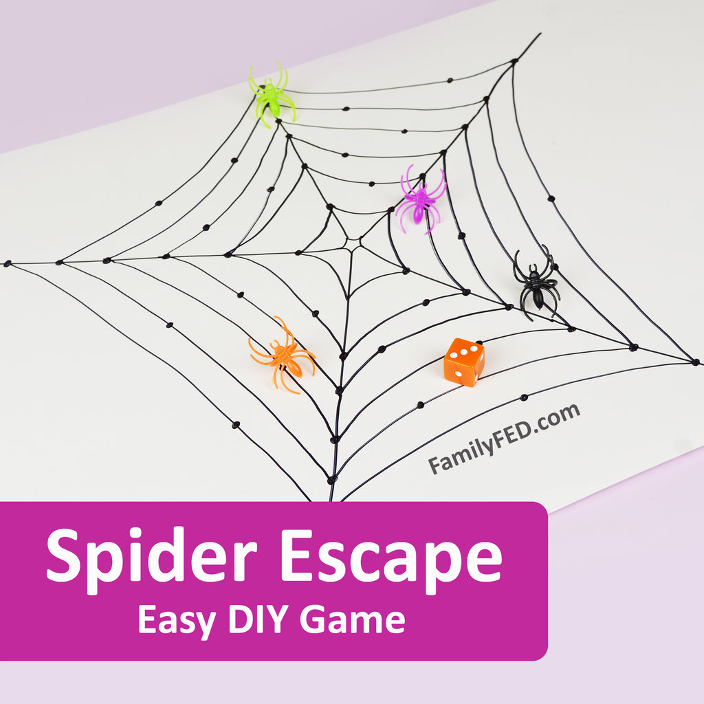 Easy 5-Minute Halloween Party Game: Spider Escape