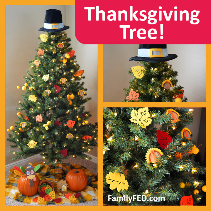 How to Decorate a Thanksgiving Tree—Honor Thanksgiving while Enjoying the Christmas Joy, Lights, and Glow!