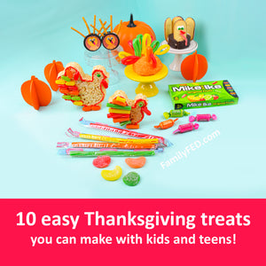 10 Easy Thanksgiving Treats You Can Make with Kids and Teens