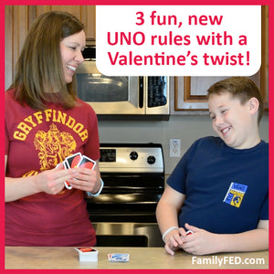 Valentine's Day Party Game Ideas: 3 Fun, New Rules for UNO