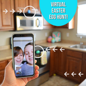 Host a VIRTUAL Easter Egg Hunt through Video Chat!