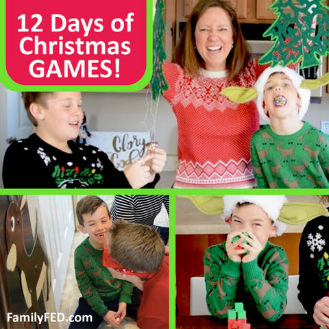 12 Days of Christmas Games—Ideas for Families or Fun Secret Santa Gifts for Neighbors