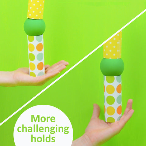 Level up challenges for 2-Stick Ball Run challenge by Family F.E.D.