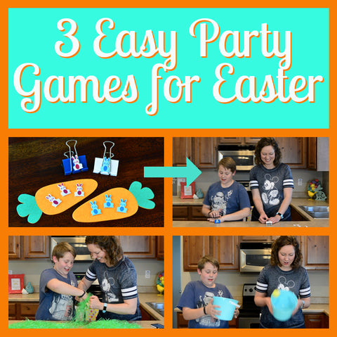 3 Easy Easter Party Games for Kids