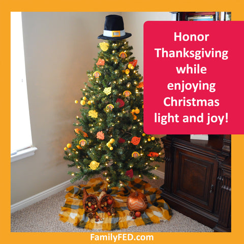 Decorate a Thanksgiving Tree