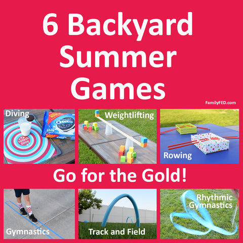 """6 Backyard """"Summer Games"""" to Go for the Gold!"""