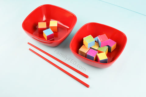 Use different objects for the game, like these cubes from the downloadable Cube Crash game