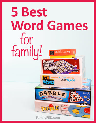 5 Best Word Games for Family Game Night—The Ultimate Guide to Word Game Gifts