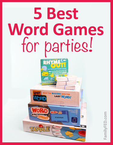 5 Best Word Games for Parties—The Ultimate Guide to Word Game Gifts