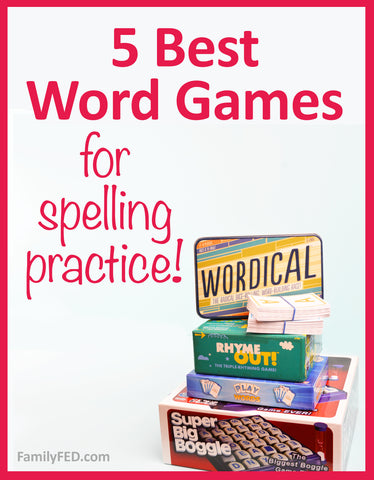 5 Best Educational Word Games for Spelling Practice and Fun—The Ultimate Guide to Word Game Gifts