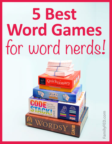 The 5 Best Word Games for Word Nerds—The Ultimate Guide to Word Game Gifts