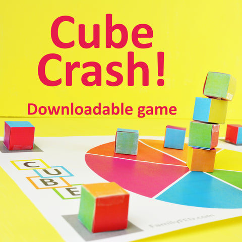 Downloadable Cube Crash game from Family F.E.D.