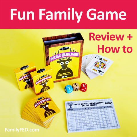 Deer in the Headlights Game for Family Game Nights and Campouts