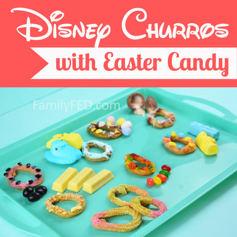 How to make Disney churros with an Easter twist