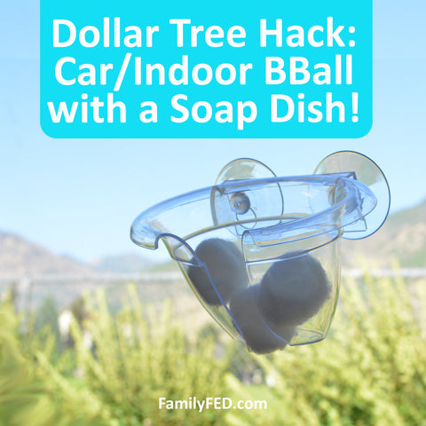 Safe and Cheap Car/Indoor Basketball Hoop