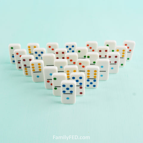 Create dominoes in a small space