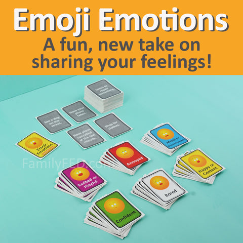 Emoji Emotions game to talk about your feelings