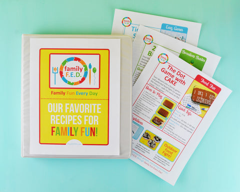 Create a family activity binder