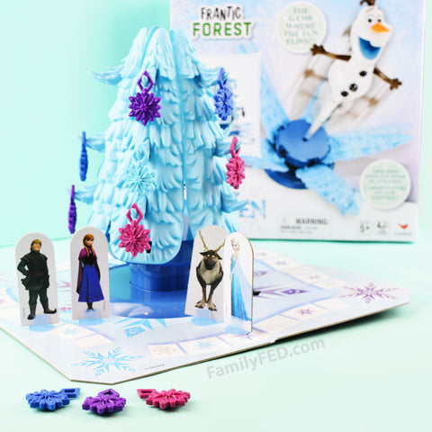 How to play Disney Frozen's Frantic Forest game with a family history twist