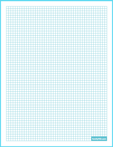 Free downloadable graph paper by Family F.E.D.