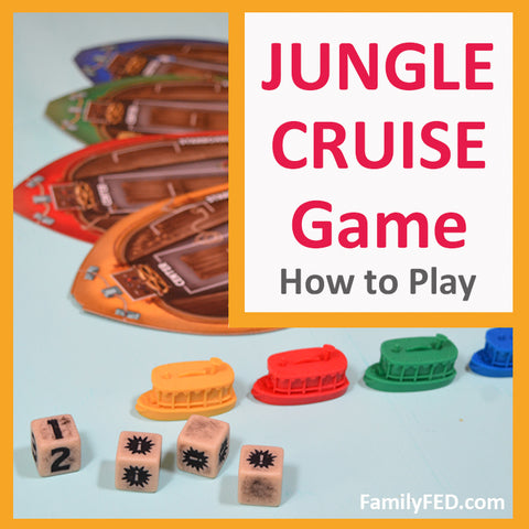 How to Play Disney's Jungle Cruise Adventure Board Game