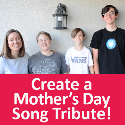 Create a fun personalized Mother's Day song