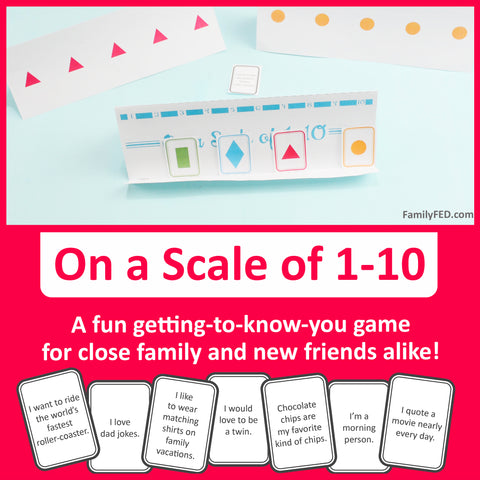 On a Scale of 1–10 printable getting-to-know-you game