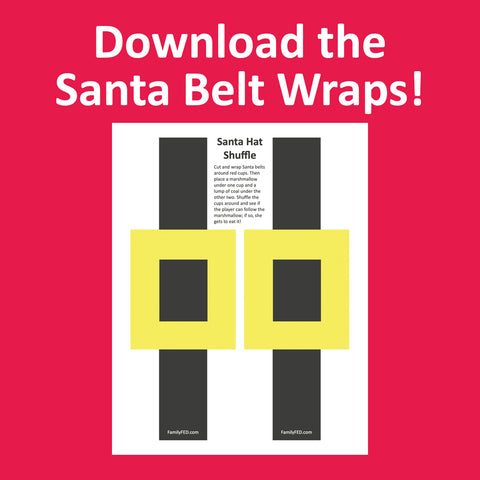 download our printables for the Santa belts