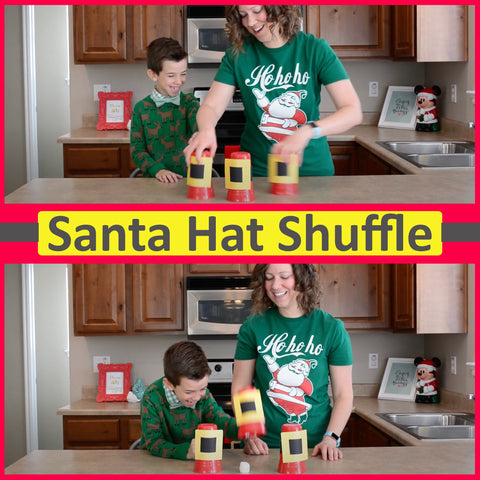 Santa Hat Shuffle—Easy and Fun Christmas Party Game for Kids