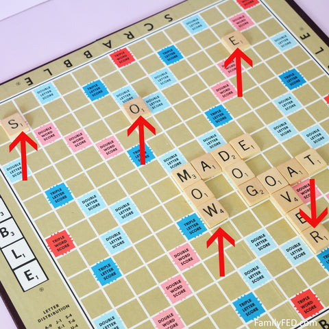 New rules for Scrabble