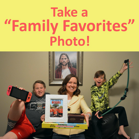 Take a family favorites photo