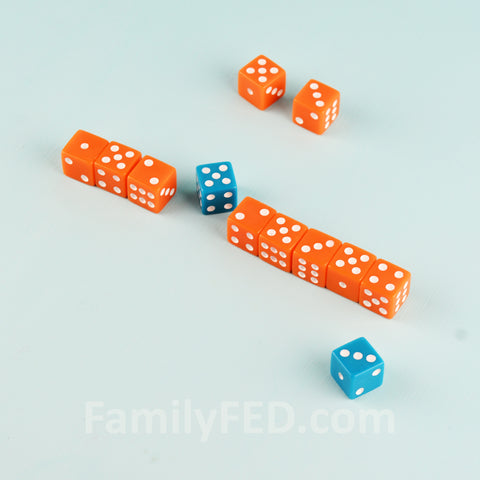 Slice the Dice easy dice game for parties and family game night