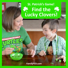 Find the Lucky Clovers—Easy St. Patrick's Day Party Game