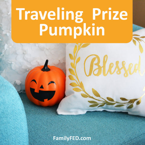 Traveling Prize Pumpkin—Easy Halloween Activities for Home or School Teachers