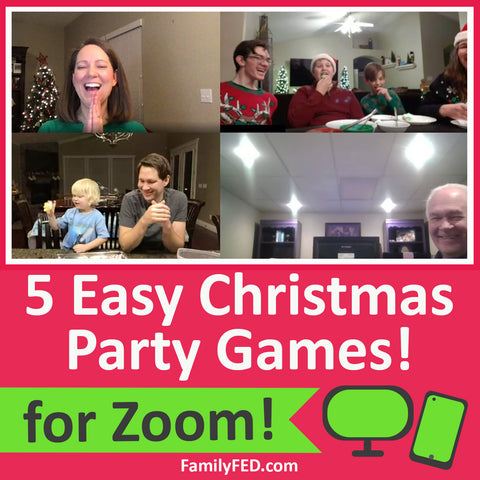 5 Easy Zoom Christmas Party Games for the Best Virtual Christmas Party