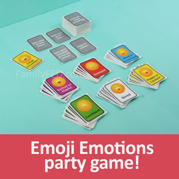 Emoji Emotions Game—a New, Creative Way to Talk about Your Feelings