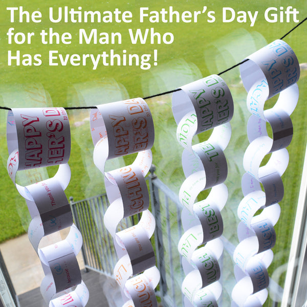 2-Week Father's Day Countdown Chain (Printable)