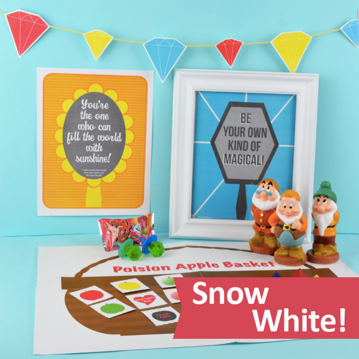Snow White Downloadable Party Collection