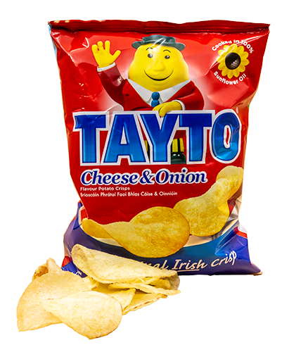 Tayto - Cheese & Onion