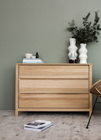 Twist Sideboard Small - Satin Black