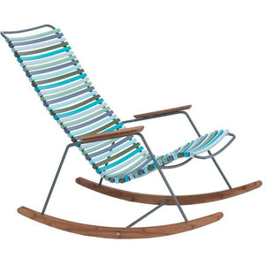 Click Rocking Chair Blue Stripe