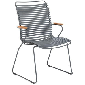 Click Dining Chair Tall Grey