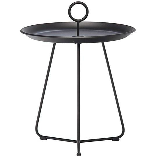 Eyelet Tray Table - Black Small
