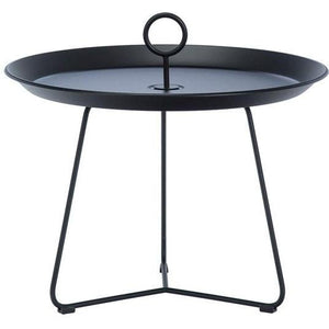 Eyelet Tray Table Black 60 cm