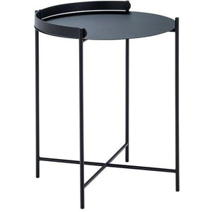 Edge Tray Table Black 46cm