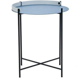 Edge Tray Table Pigeon Blue 46cm