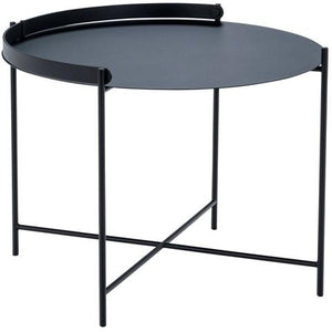 Edge Tray Table Black 62cm