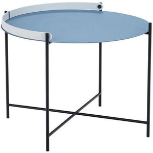Edge Tray Table Pigeon Blue 62cm