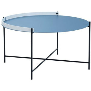 Edge Tray Table Pigeon Blue 76cm