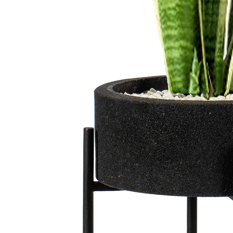 Lava Stone Plant Stand Large